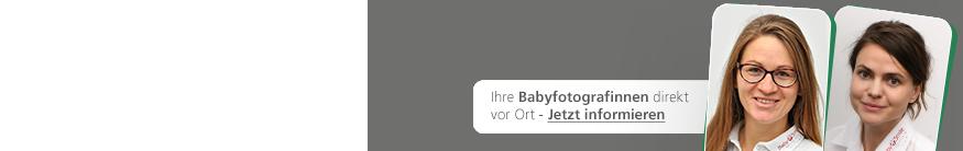 Ihre Babyfotografinnen direkt vor Ort